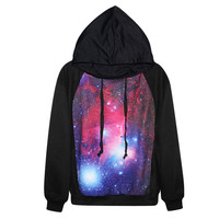 Unique Galaxy Womens Sweatshirt Hoodies