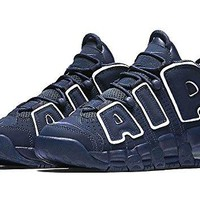 Nike Air More Uptempo (GS) Navy (Big Kids) Shoes