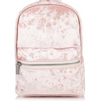 **Pink Velvet Backpack by Skinny Dip - New In