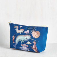 Nautical Creatures of the Whim-sea Toiletry Bag by ModCloth