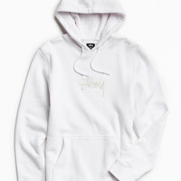 Stussy Stock Embroidered Hoodie Sweatshirt | Urban Outfitters