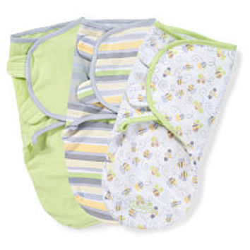 Summer Infant 3-Pack SwaddleMe - Busy Bees