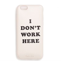 Ban.do - Leatherette IPhone 6/6s Case in I Don't Work Here