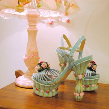 Rose Princess perspective shoes