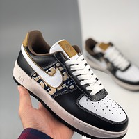 Dior x Nike Air Force 1 low-top all-match casual sneakers shoes
