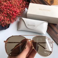 Valentino Woman Men Fashion Summer Sun Shades Eyeglasses Glasses Sunglasses created created