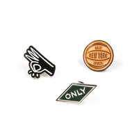 ONLY NY | STORE | Misc | Black Top Pin Pack
