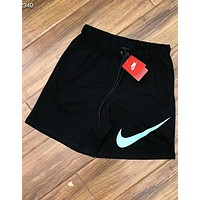 NIKE classic big hook sports running training football shorts F-AG-CLWM Black