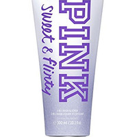 Victoria Secret Pink Sweet and Flirty 2 in 1 Body Wash and Scrub