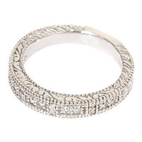 14k White Gold Antique Style Diamond Wedding Band Ring in Pave Setting (1/4cttw)