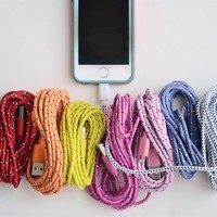 10 Foot Bungee iPhone Cable - iPhone 4, 5 or 6!