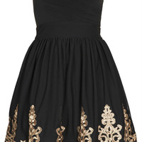 **Lila Bandeau Dress by TFNC - New In This Week - New In - Topshop USA