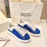 Alexpander McQueen  Fashion Men Casual Running Sport Shoes Sneakers Slipper Sandals