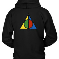 Harry Potter Deathly Hallows Symbol Hoodie Two Sided
