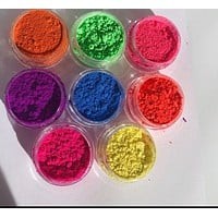 Neon Eyeshadow Pigments