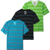 American Rag Shirt, Raw Edge Stripe Every Day Value T Shirt - Mens Guy's Clothing - Macy's