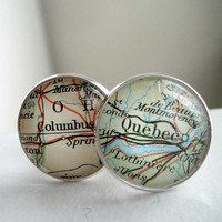 Unique Gift For Him, Personalised Cufflinks, Under 50, Mens Accessories