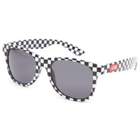 Vans Spicoli 4 Sunglasses Black Checkerboard One Size For Men 21976312501