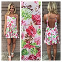 Vintage Garden Babydoll Dress