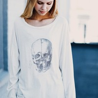 SAMANTHA HUMAN SKULL TOP