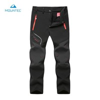 Waterproof Pants Outdoor Trekking Pants Winter Hiking Hunting Pants Tactical Softshell Windstopper Hunting Trousers Knee Pads