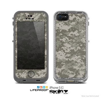 The Digital Camouflage V2 Skin for the Apple iPhone 5c LifeProof Case