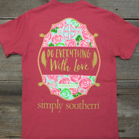 Do Everything With Love Tee | Simply Southern