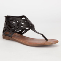 City Classified Salwa Womens Sandals Black  In Sizes