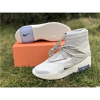 NIKE Air Fear of God 1 FOG creamy-white Men Sport Basketball Shoes Sneaker Shoes