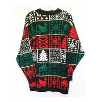 Vintage Ugly Christmas Sweater, Size M