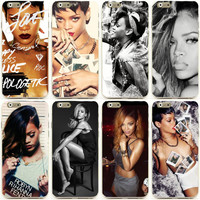 """Sexy Girls Rihanna mobile cell phone case  for apple iphone 6 4.7"""" 5.5"""" plus"""