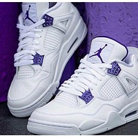 NIKE Air Jordan 4 AJ 4 Men Basketball Sneakers Shoes