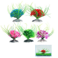 Artificial Water Green Plant Grass For Aquarium Fish Tank Plastic Decor Ornament