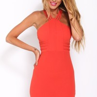 Chasing Danger Dress Red