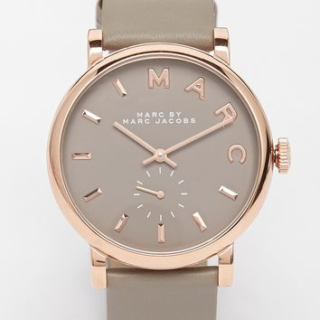 Marc By Marc Jacobs MBM1266 Baker Leather Watch