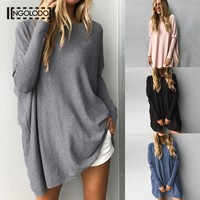 S~3XL Plus size Women knitting sweaters for female long cardigan coat jumper spring autumn winter long sleeve clothes ladies