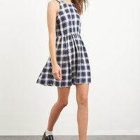 Tartan Plaid Tank Dress