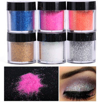 6 Pieces Loose Eye Glitter Set
