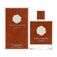 Vince Camuto Terra by Vince Camuto For Men 3.4 Oz EDT Spray