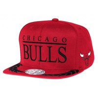 Laurel Snapback Chicago Bulls | Mitchell & Ness