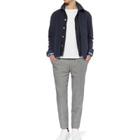 A.P.C. - Woven Linen and Cotton-Blend Bomber Jacket | MR PORTER