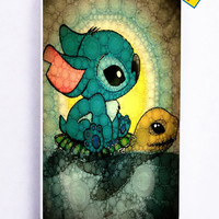 Stich And Turtle for Iphone 5 / 5s Cover Rubber Case