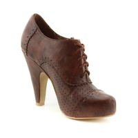 Womens Not Rated Pazazz Heel in Tan | Shi by Journeys