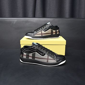 Burberry2021 Men Fashion Boots fashionable Casual leather Breathable Sneakers Running Shoes09190cx