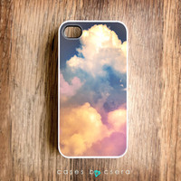 Unique iPhone Case, Cloud iPhone 4 Case, Gorgeous Snap on Cell Phone Case Hard iPhone Case, Abstract iPhone Case