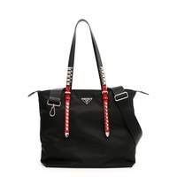 Red & Black Shopper by Prada