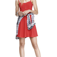 RED CAMI SUNDRESS from EXPRESS