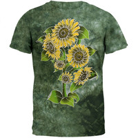 Sunflowers Tie Dye T-Shirt