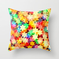 Starstruck Throw Pillow by Lisa Argyropoulos