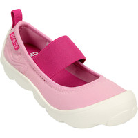 Crocs Duet Busy Day Mary Jane Shoe - Girls'